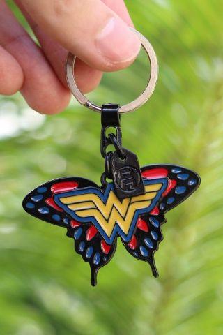 Chaveiro de Metal Mulher Maravilha Butterfly