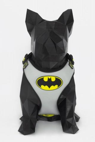 Coleira Peitoral Air para Cães Batman