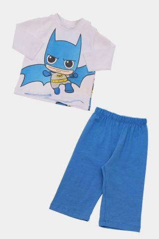Conjunto Infantil  de Calça e Blusa de Manga Longa Batman Baby