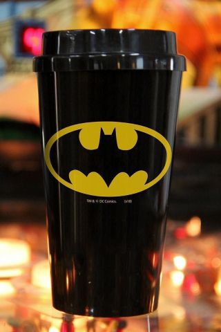 Copo Bucks Batman Logo