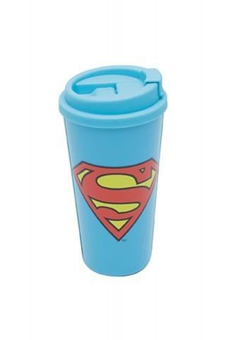 Copo Plástico Superman Logo