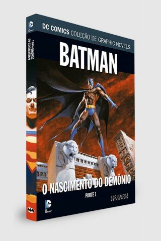 Graphic Novel Batman: O Nascimento do Demônio - Parte 1