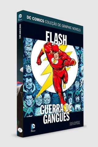 Graphic Novel Flash: Guerra de Gangues ed. 56