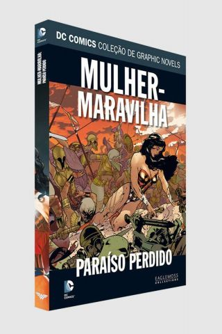 Graphic Novel Mulher Maravilha - Paraíso Perdido