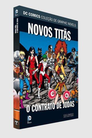 Graphic Novel Novos Titãs: O Contrato de Judas ed. 20
