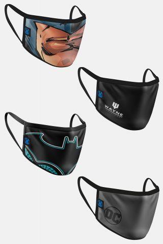 Kit com 4 Máscaras Batman