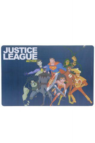 Lugar Amaricano Liga da Justiça Cartoon