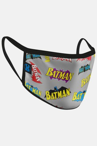 Máscara Batman Logo Vintage