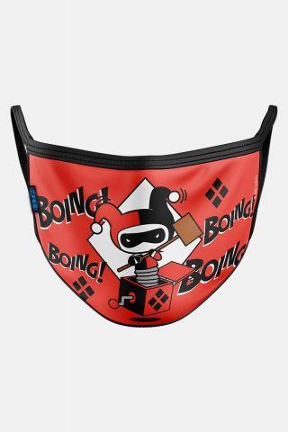 Máscara Harley Quinn Boing!