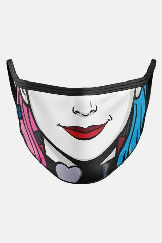 Máscara Harley Quinn Rosto HQ