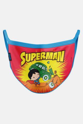 Máscara Infantil Superman Action Comics
