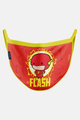 Máscara Infantil The Flash Chibi