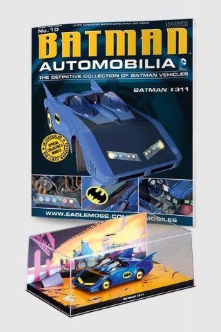 Miniatura Batmóvel ed.10  -  Batman #311 + Revista