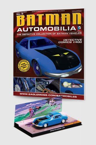 Miniatura Batmóvel ed.5 -  Detective Comics  #400 + Revista