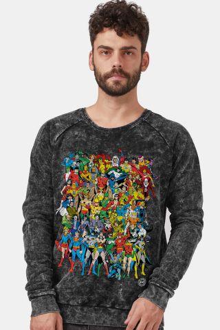 0957cadb41 Moletinho Marmorizado DC Comics Originals
