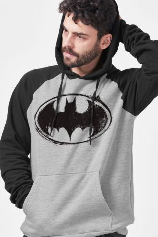 Moletom Raglan Batman Logo