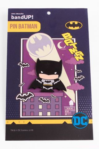 Pin de Metal Batman Chibi