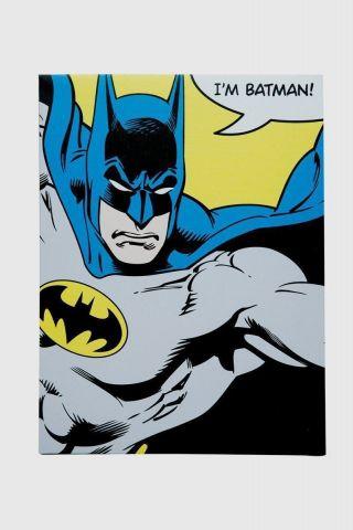 Quadro Tela DC I'm Batman