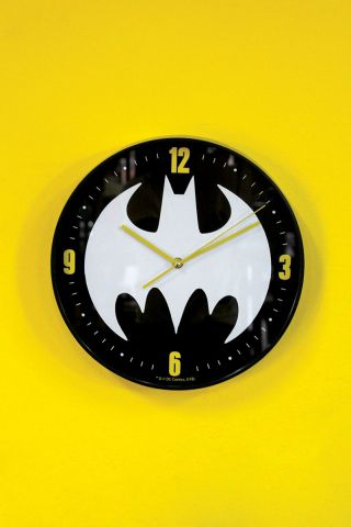 Relógio de Parede Batman Logo