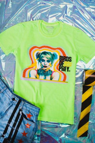 T-Shirt Feminina Birds of Prey Harley Quinn