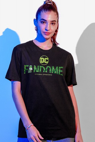 T-shirt Feminina Fandome Logo Coringa