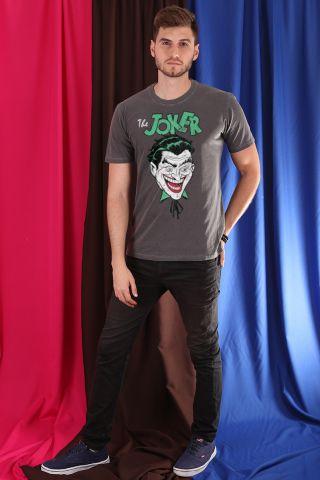 T-shirt Premium Masculina Coringa Sorridente