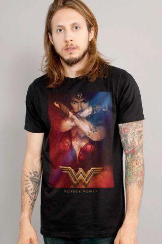 Camiseta Masculina Mulher Maravilha Power