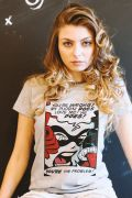 Camiseta Feminina Harley Quinn You´re The Problem