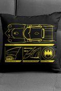 Almofada Batman Batmóvel Blueprint