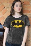 Blusa Feminina Batman Logo Clássico