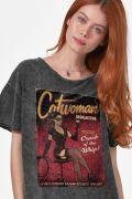 Blusa Feminina Catwoman Magazine