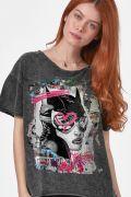 Blusa Feminina Catwoman Street Art