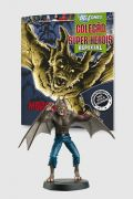 Boneco Miniatura Especial Homem Morcego + Revista