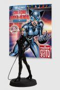Boneco Miniatura Mulher Gato + Revista