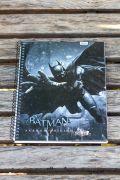 Caderno Batman Blackgate 1 Matéria