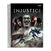 Caderno Injustice Gods Among Us 1 Matéria