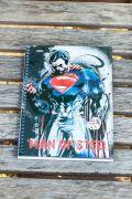 Caderno 1 Matéria Superman Man Of Steel