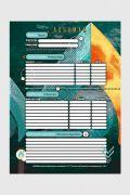 Caderno Aquaman 10 Matérias
