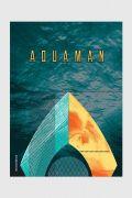 Caderno Aquaman Trident 10 Matérias