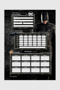 Caderno Batman Shield 10 Matérias
