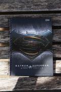 Caderno Batman VS Superman Logo 1 Matéria