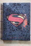 Caderno Superman Logo Crack 1 Matéria