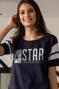Camiseta Athletic Feminina The Flash STAR Laboratories