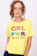 Camiseta Box Feminina GRL PWR