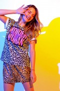 Camiseta Feminina Animal Print Mulher Maravilha