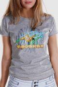 Camiseta Feminina Aquaman Force