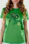 Camiseta Feminina Arqueiro Verde Flechas