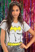 Camiseta Feminina Batgirl Body