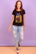 Camiseta Feminina Batgirl Poderosa