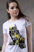 Camiseta Feminina Batman 80 Anos As Faces de Batman
